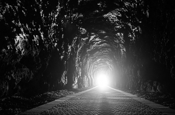Light at the end of the dark tunnel